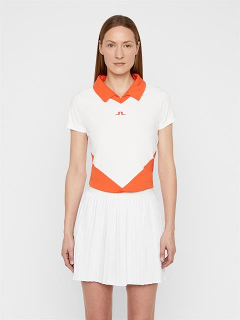 Womens Birgit TX Jersey Polo White