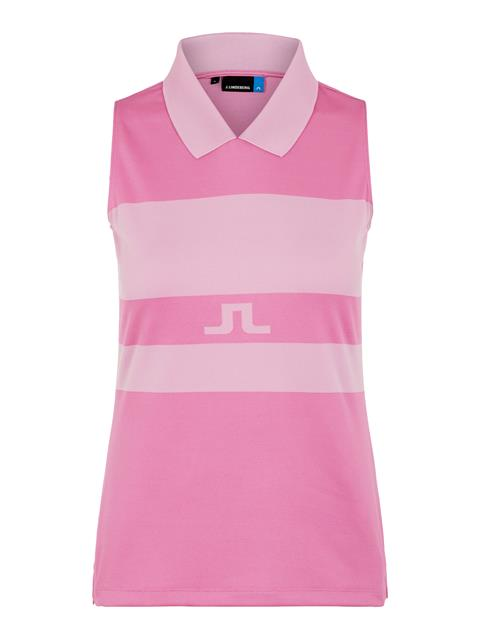 Womens Celia TX Jacquard Polo Pop Pink