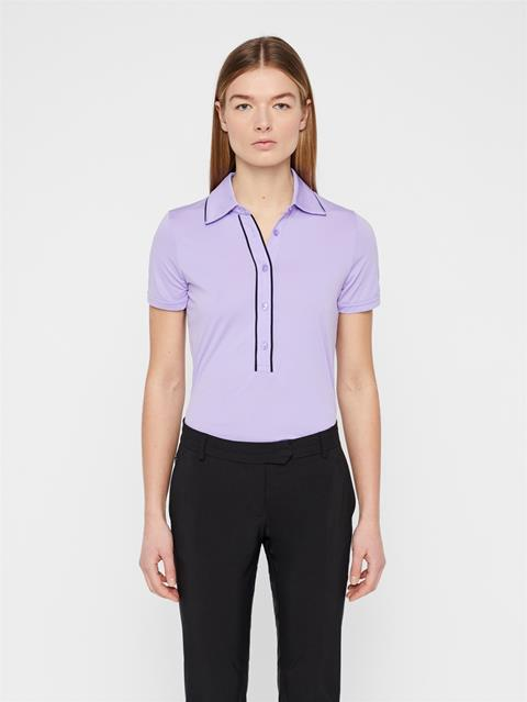 Womens Flor Ultra Light Polo Tulip Purple