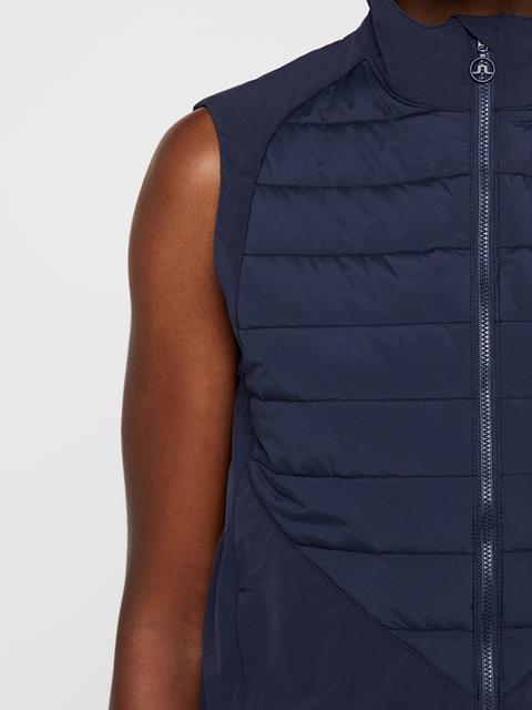 Womens Lianna Softshell Vest JL Navy