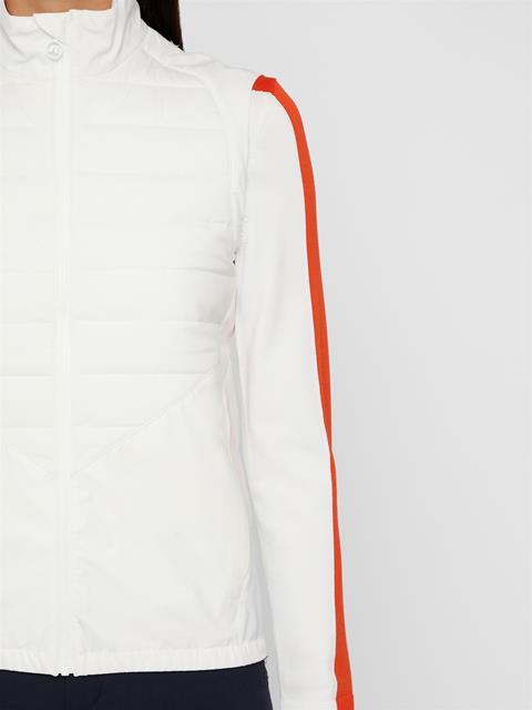 Womens Lianna Softshell Vest White