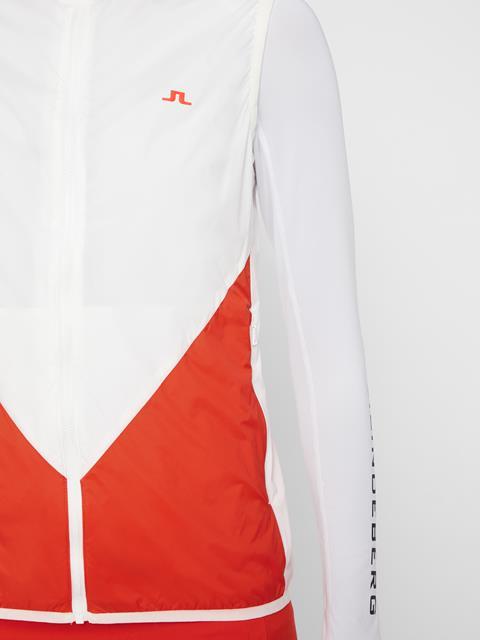 Womens Skye Wind Pro Vest White
