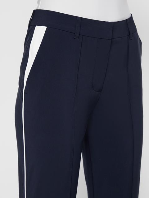 Womens Gretha Micro Stretch Pants JL Navy