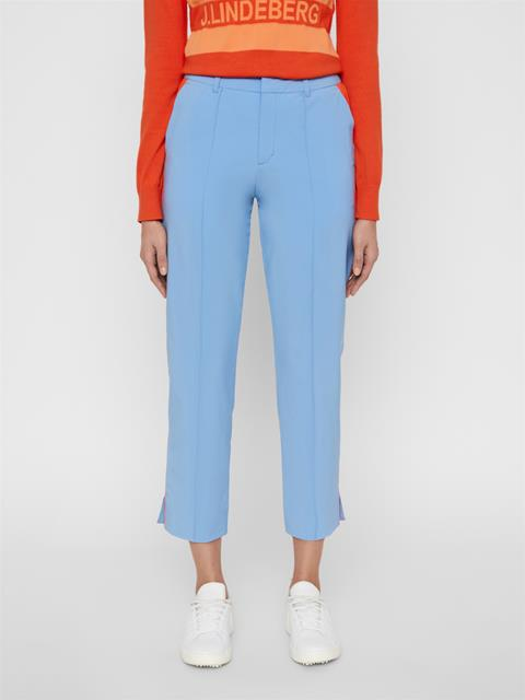 Womens Gretha Micro Stretch Pants Lake Blue