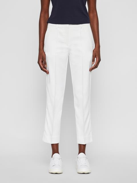 Womens Gretha Micro Stretch Pants White