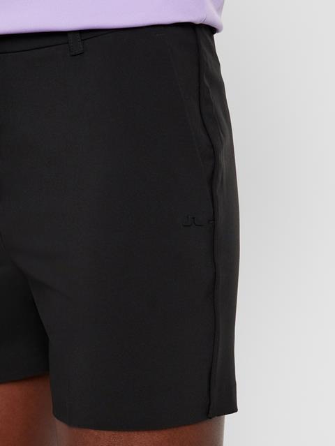 Womens Gwen Micro Stretch Shorts Black