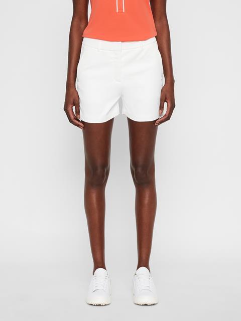 Womens Gwen Micro Stretch Shorts White