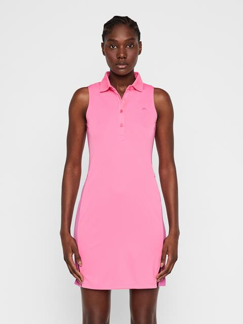 Womens Ulli TX Jersey Dress Pop Pink