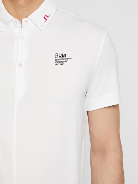 Mens future.archive_Rubi Polo White