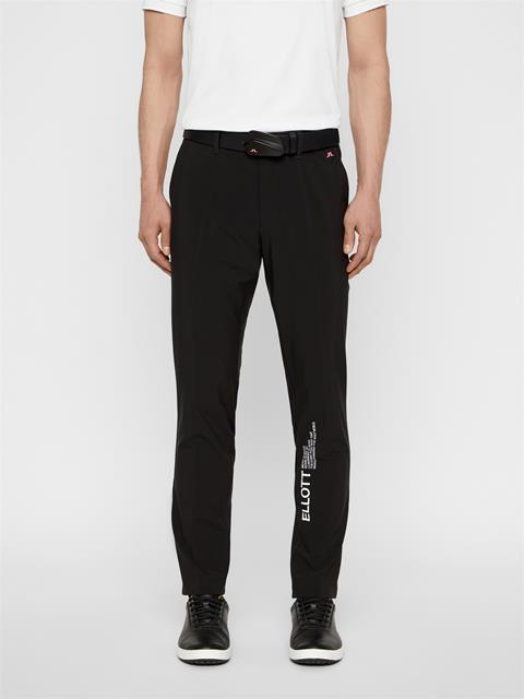 Mens future.archive_Ellott Micro Stretch Pants Black