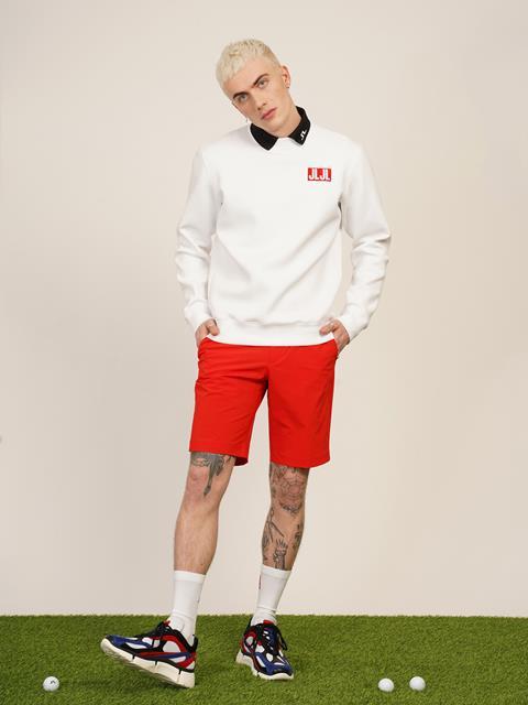 Mens JLJL Sweatshirt White