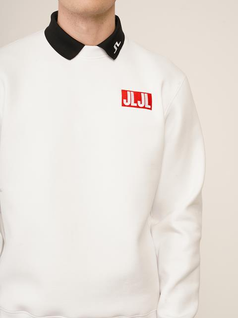Mens JLJL Sweatshirt White