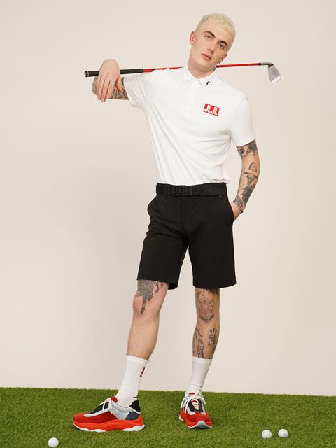 Mens JLJL Tour Tech Regular Fit Polo White