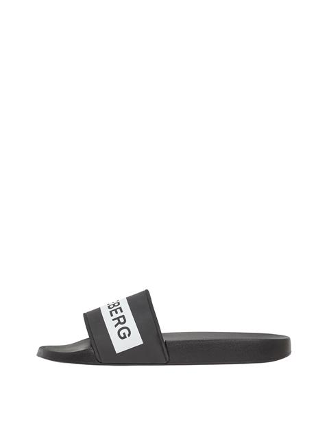 Mens Casual Summer Slide Black