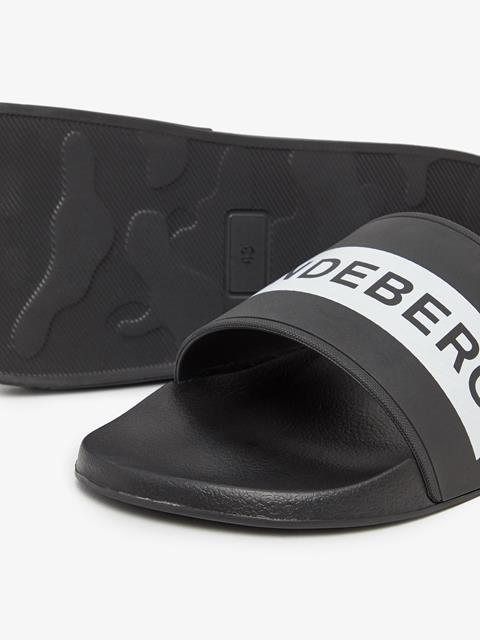 Mens Casual Summer Slide Black