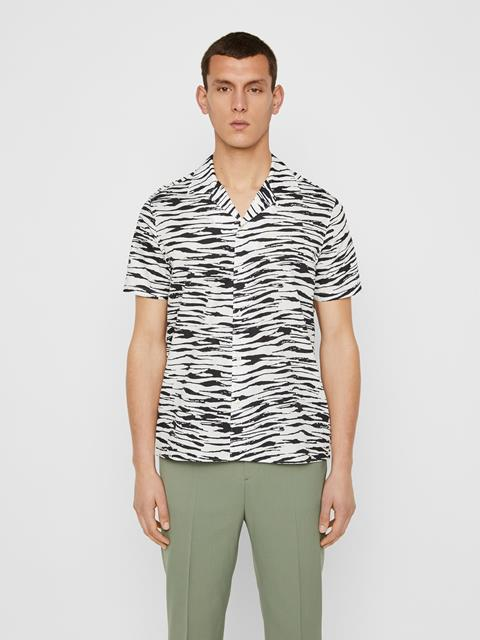 Mens Axel Resort Shirt White