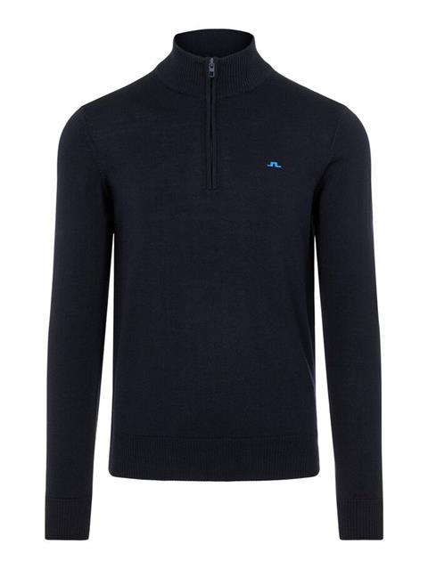 Mens Kian Zipped Sweater JL Navy