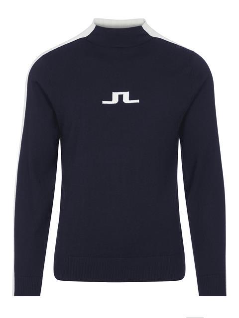 Mens Ruben Turtleneck Sweater JL Navy
