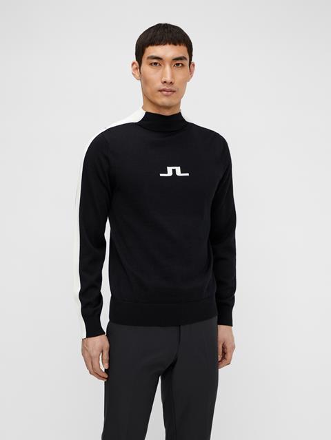 Mens Ruben Turtleneck Sweater White