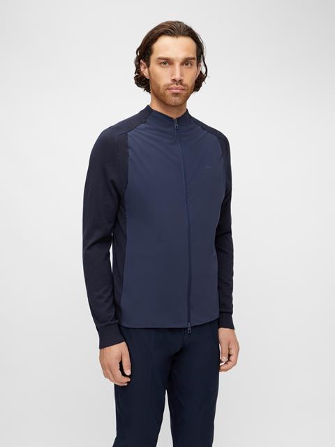 Knit Hybrid Jacket