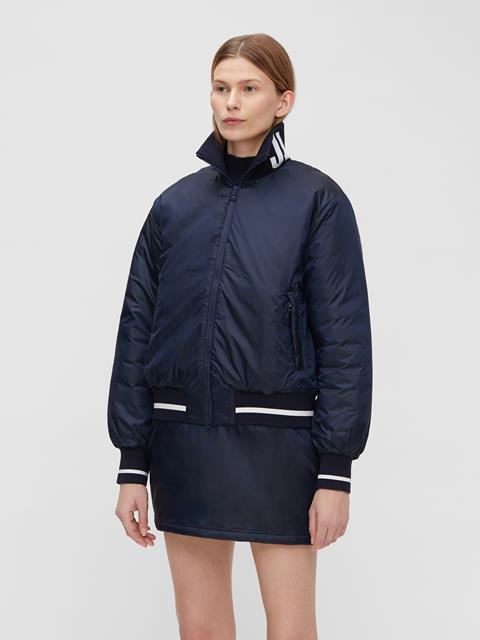 Womens Malou Padded Jacket JL Navy