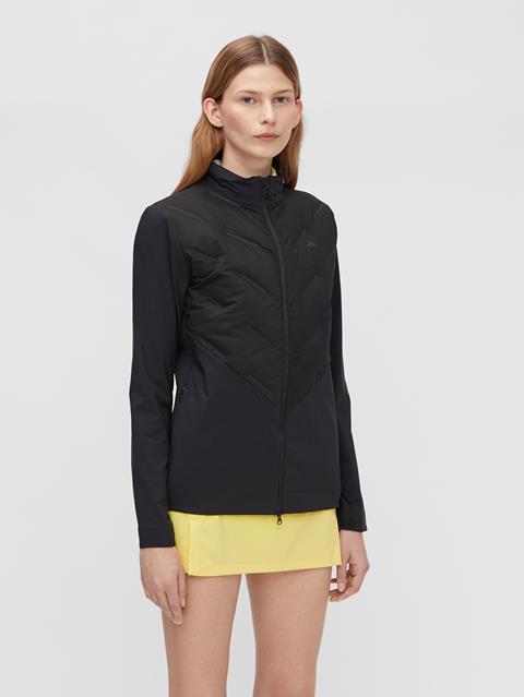 Womens Nor Hybrid Jacket Black