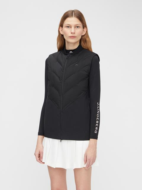 Womens Dea Hybrid Vest Black