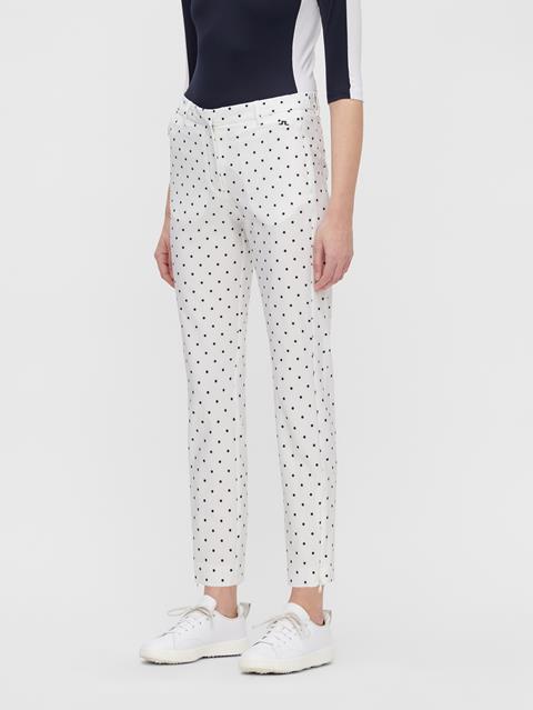 Womens Dana Print Pant Navy Dot
