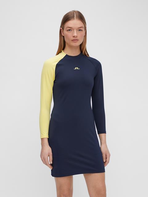 Womens Lise Dress JL Navy