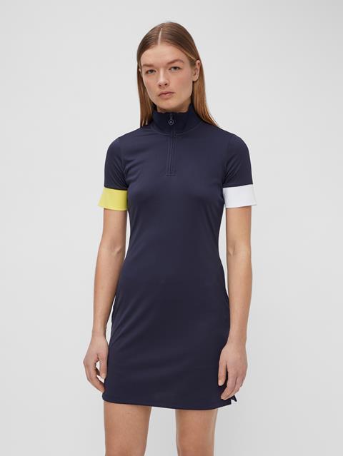 Womens Ines Dress JL Navy