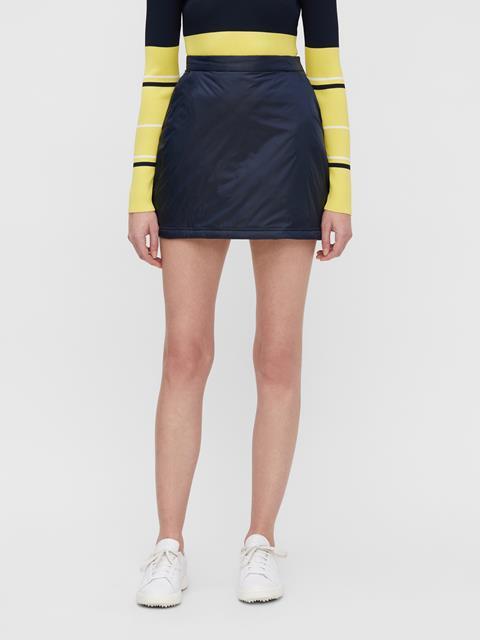 Womens Lo Padded Skirt JL Navy