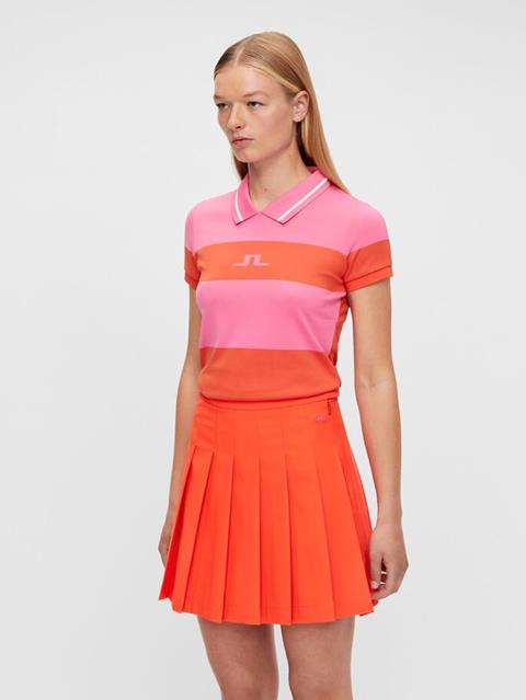Womens Adissa Polo Pop Pink