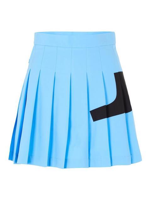 Womens Naomi Bridge Skirt Ocean Blue