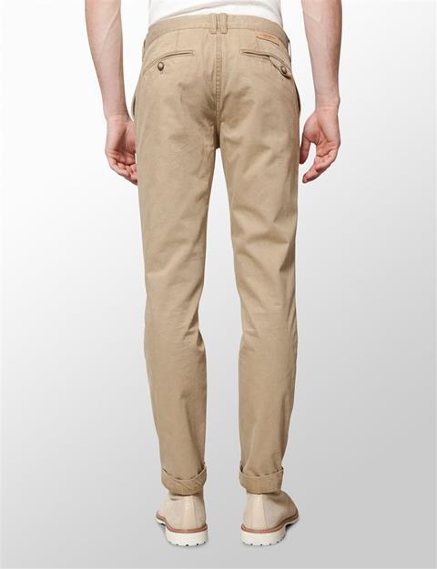 Mens Chaze Season Cotton Pants Beige
