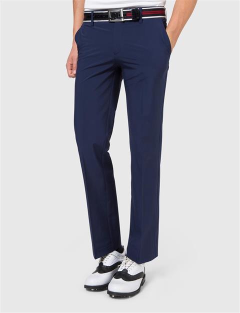 Mens Troon Micro Stretch Pants Navy/Purple