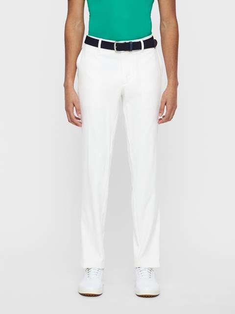 Mens Ellott Micro Stretch Pants White