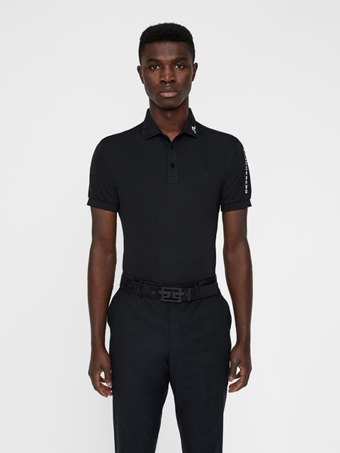 Mens Tour Tech TX Jersey Polo Black