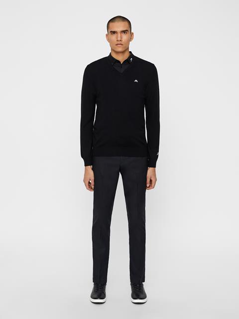 Mens Lymann Tour Merino Sweater Black