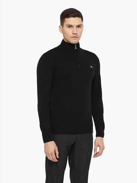 Mens Kian Tour Merino Sweater Black