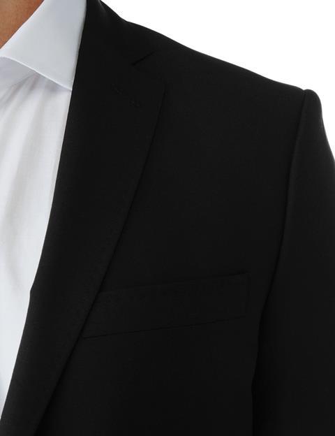 Mens Mick Dressed Wool Black