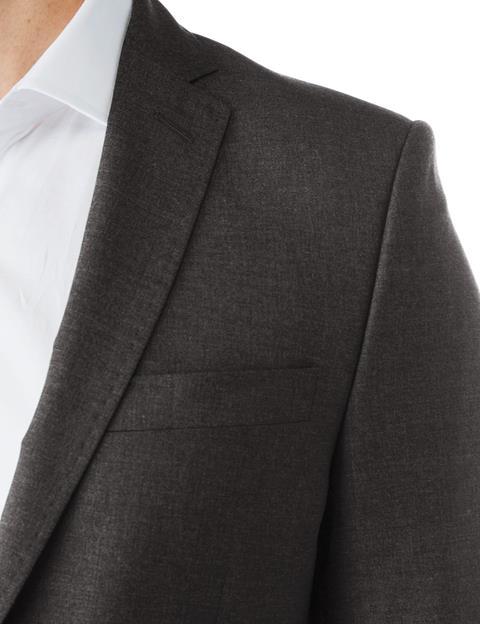 Mens Mick Dressed Wool Grey Melange