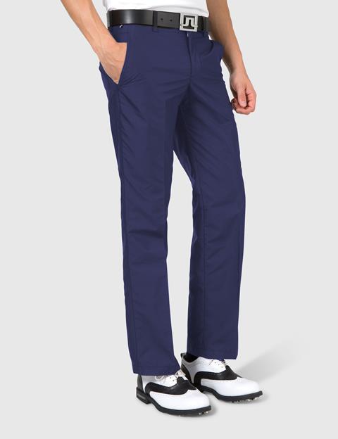 Troon Micro Twill Pants Navy/Purple