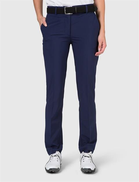 Womens Kay Micro Stretch Pants Navy/Purple