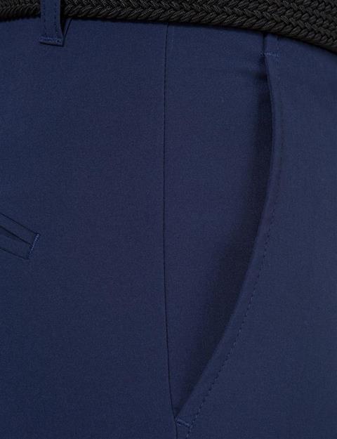 Womens Kay Micro Stretch Pants Navy/Purple