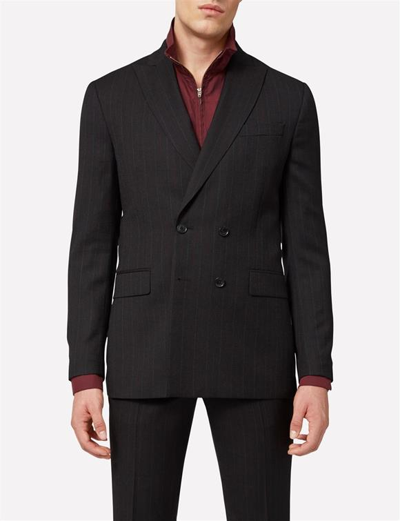 Darko Double Breasted Fancy Wool Blazer