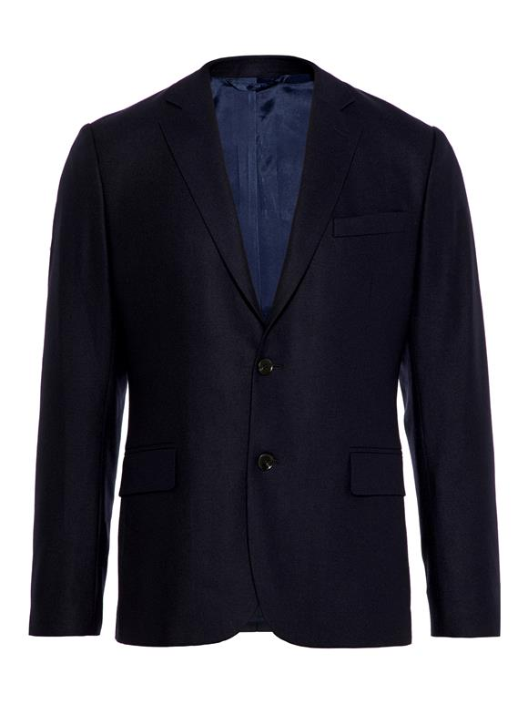 J.Lindeberg Mens Italian Wool Flannel Blazer