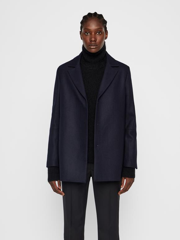 Annie Compact Melton Short Coat