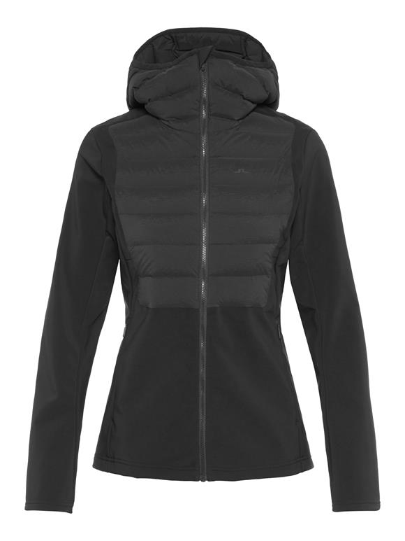 Vertex Hybrid Down Hooded Jacket