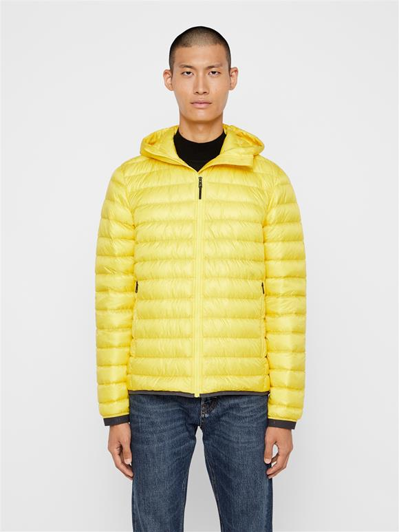Hooded Light Down Jacket