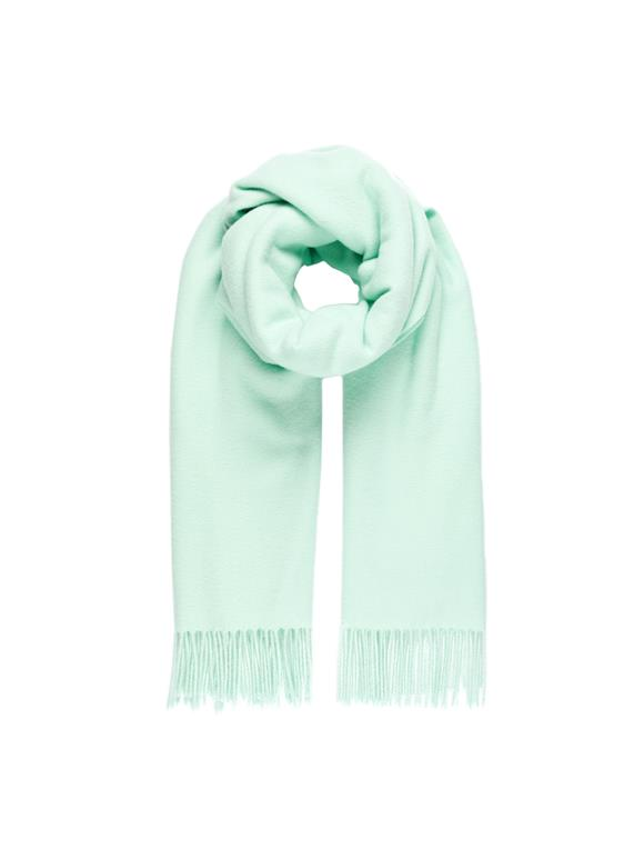 Frame Solid Wool Scarf